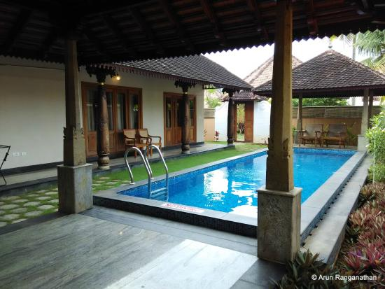 The 1br Cottage With Private Swimming Pool Picture Of Club Mahindra Poovar Puvar Tripadvisor