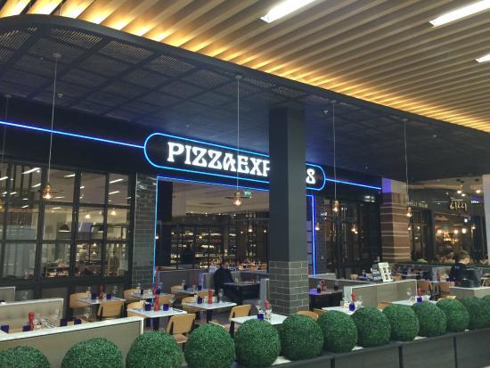 Pizza Express Glasgow Silverburn Shopping Centre 763