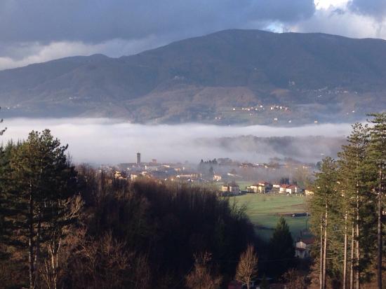 Villa Belvedere: La vista... a colazione.