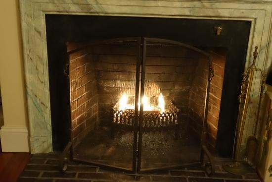Pheasant Hill Inn: Cosy Fireplace