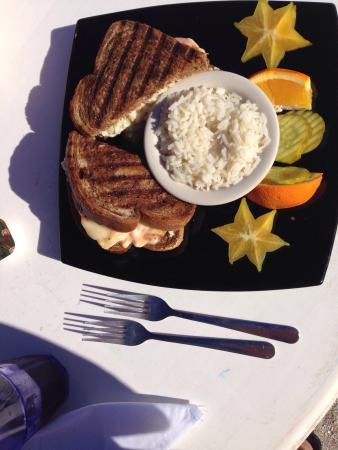 Moore's Stone Crab Restaurant : Grouper Reuben