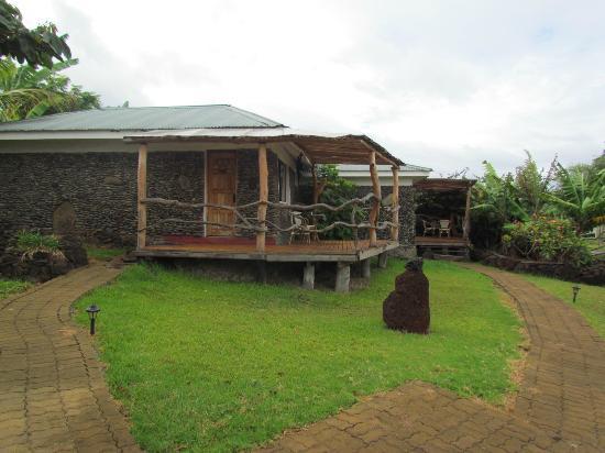 Cabañas Pikera Uri: vista das cabanas/ quartos