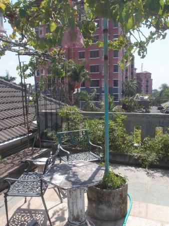 Homestay Heru : Rooftop