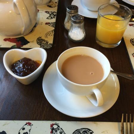 Merlin House Bed & Breakfast: Lovely full English breakfast