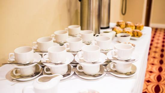 Tea coffee station picture of harlequin hotel castlebar for How to set up a coffee station