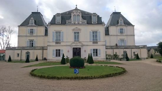 Château de Cîteaux La Cueillette : façade