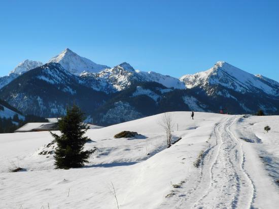 Tannheim, Autriche : Höhen und Sonnenwanderweg Grän nach Tann heim