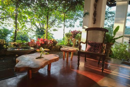 Halgolla Plantation Home: The terrace