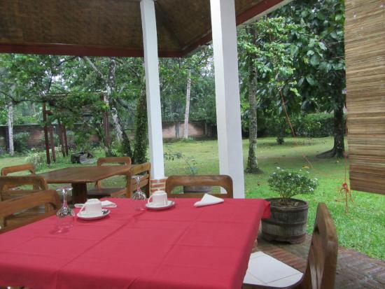 Satwa Elephant Eco Lodge: Just some views of the dining area