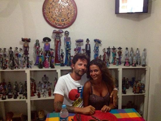 Catrina Restaurant: El Local con Catrina