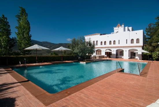 Hotel Villa de Laujar: Zona Piscina
