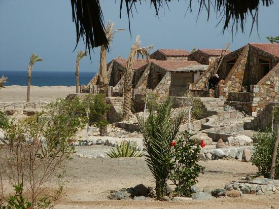 Eco-Lodge Bedouin Valley: Chalets with Toilet and shower & ACs