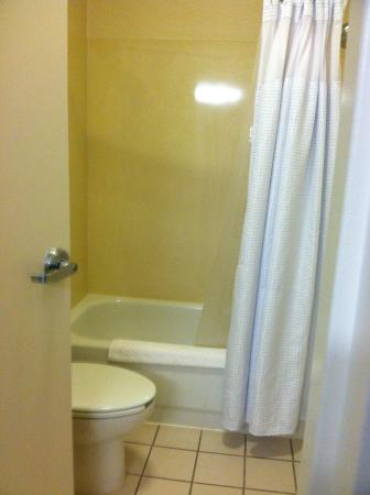 SpringHill Suites Mystic Waterford: Bathroom