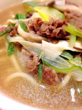 Hanwoori Korean Restaurant: HANWOORI 韓牛肉入りそうめん寄せ鍋