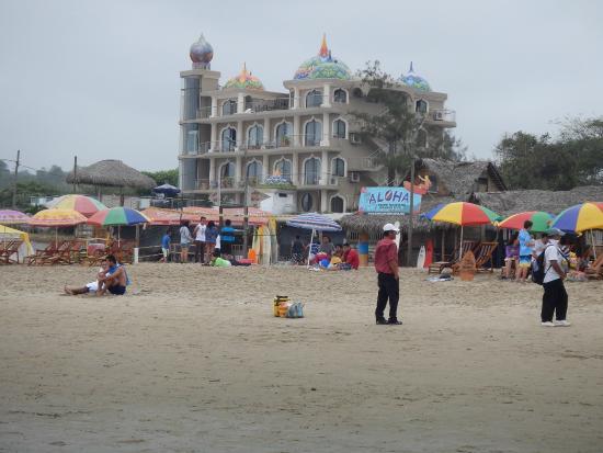 Dharma Beach: View from the Beach