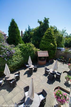 BEST WESTERN Brook Hotel, Felixstowe: Courtyard Garden
