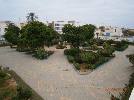 Suerte Loca: Kleiner sauberer Park in der Stadt