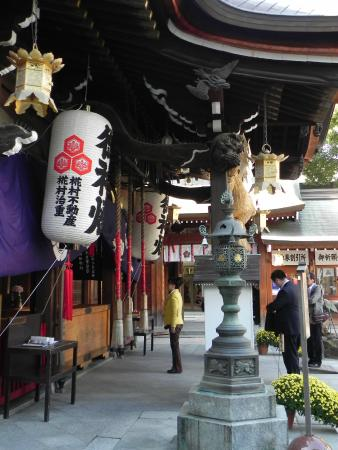 Kushida-jinja (櫛田神社) - Photo de Kushida Shrine, Fukuoka ...