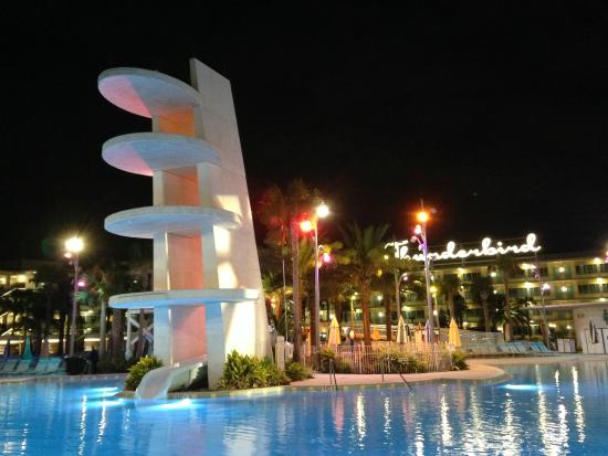 Universal S Cabana Bay Beach Resort Water Slide Pool