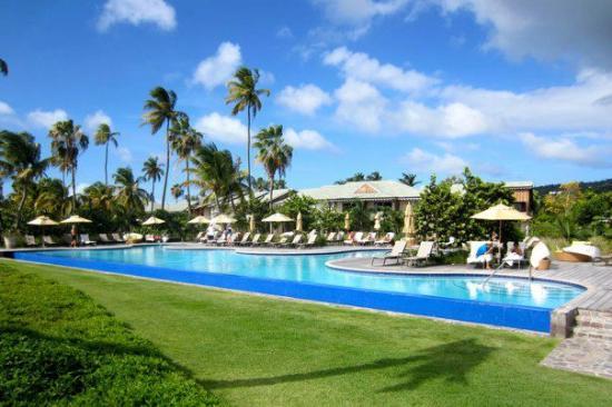 Four Seasons Resort Nevis, West Indies : pool