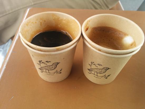 The Bluebird Café : Takeaway coffee