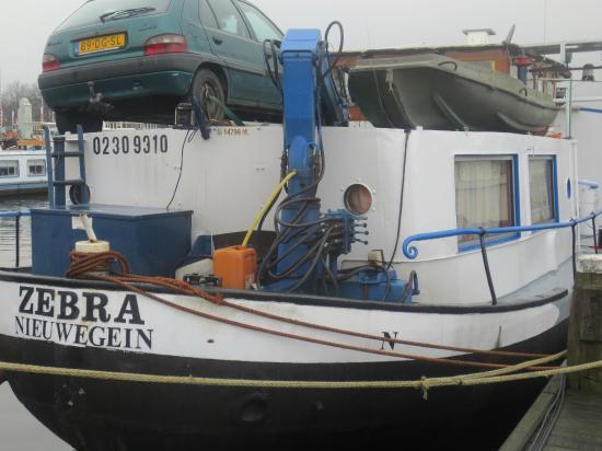 Botel Zebra: backship