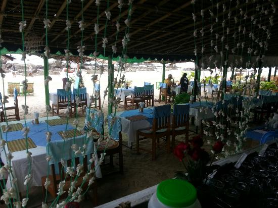 Sunset View Beach Bar & Restaurant : Sitting plan in sunset view beach bar&restaurant