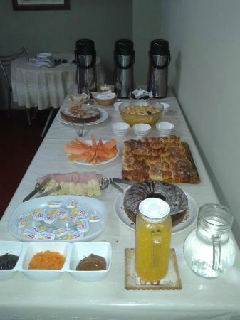Marangatu: desayuno muy completo