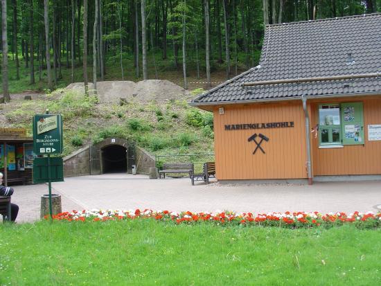 Marienglashöhle Friedrichroda: entrada a la mina de cristal