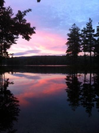 Blue Gentian Lodge: Nearby Lowell Lake Sunset