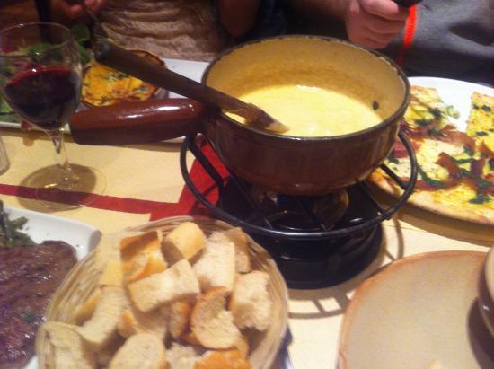 Brasserie Les Cimes: Fondue
