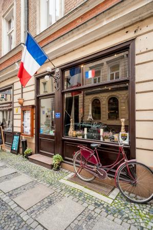 Le Bistrot Parisien : z zewnątrz