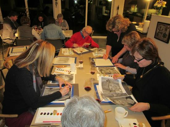 Winery Tours Walla Walla : Art, wine & freinds. Classes available.