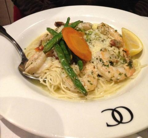 Ocean Club Restaurant: Shrimp scampi