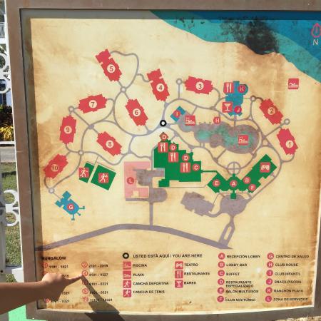 Memories Flamenco Beach Resort The Resort Layout