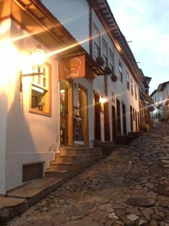 Pousada Sempre Viva: Rua do Centro histórico de Diamantina.