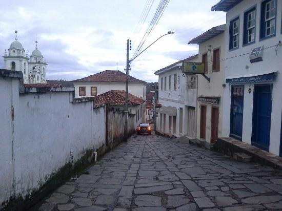 Pousada Sempre Viva: Vista do quarto da pousada para o centro histórico.