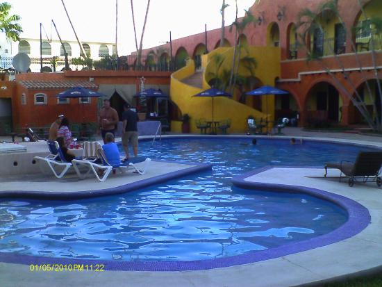 Hotel Mar de Cortez: Artic cold pool.