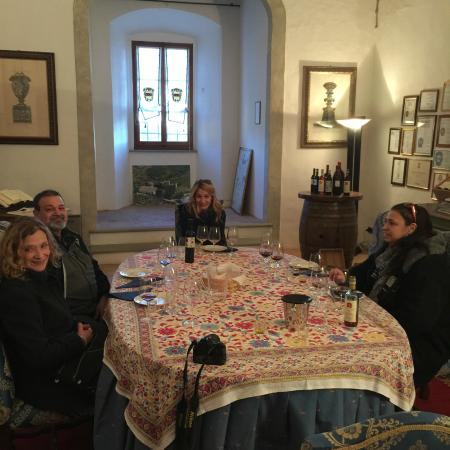 Florence Wine Academy: tasting Castle style