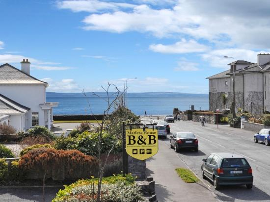 Marless House Bed & Breakfast: Galway Bay - View from Marless House