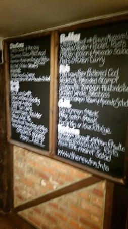 The New Inn: A very good menu