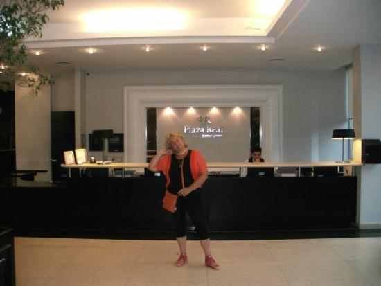 Plaza Real Suites Hotel: Consejeria
