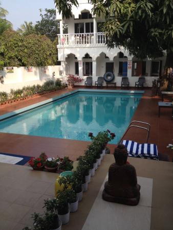 Hotel Gandhara: Lovely clean pool area