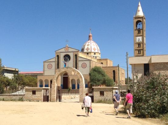 Adigrat, Ethiopie: Церковь Спасителя