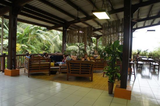 Bocas Island Lodge: areas abiertas 2