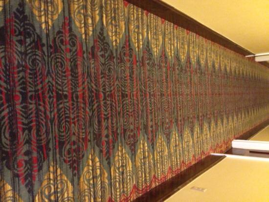 The Plaza Hotel: new hallway carpeting