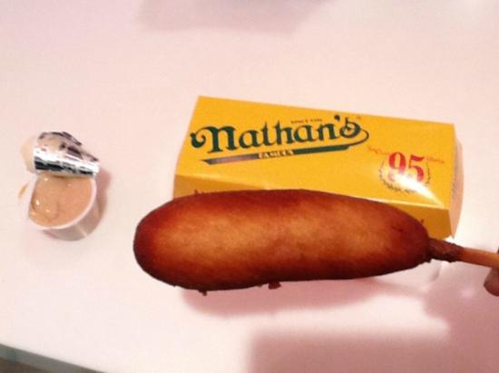Image Result For Nathans Famous Dog On A Stick