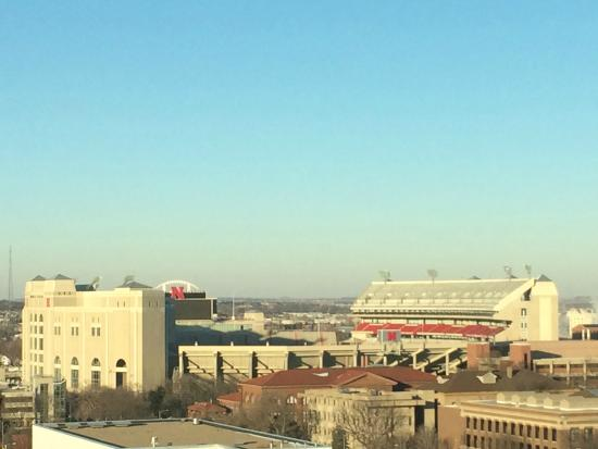 Holiday Inn Lincoln - Downtown: stadium view