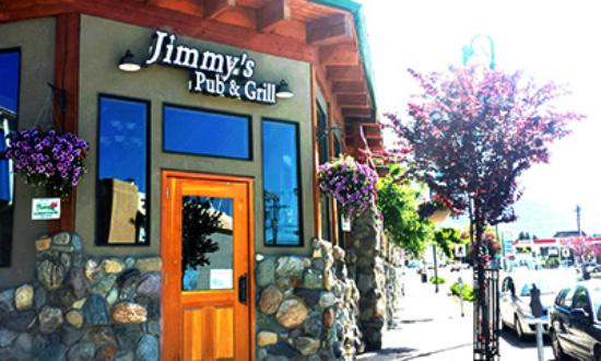Creston Hotel: Welcome to Jimmy's Pub (onsite)