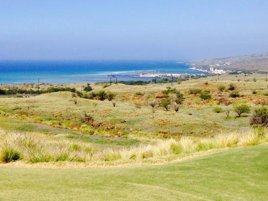 Hapuna Golf Course : Really nice ocean views from the course